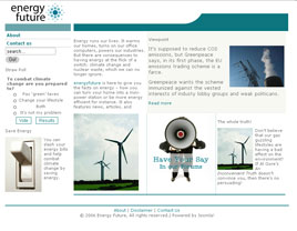 Energyfuture Home Page